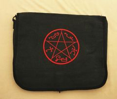 Supernatural Devil's Trap Embroidered Messenger Bag