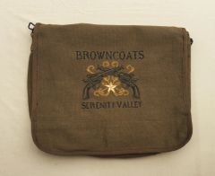 Browncoats Embroidered Messenger Bag