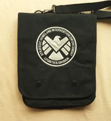 SHIELD Embroidered Tablet Bag