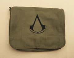 Assassin's Creed Embroidered Messenger Bag (Green)