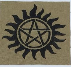 Supernatural Anti-Possession Embroidered Symbol