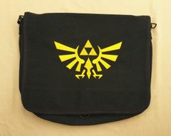 Zelda Tri-Force Embroidered Messenger Bag
