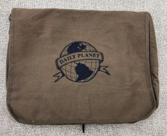 Daily Planet Embroidered Messenger Bag