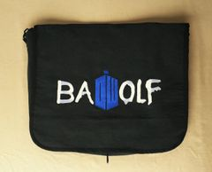 Doctor Who Bad Wolf Embroidered Messenger Bag