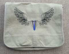 Supernatural Castiel Embroidered Messenger Bag