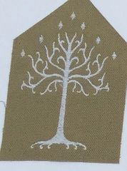 Tree of Gondor Embroidered Symbol