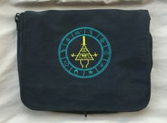Gravity Falls Bill Cipher Embroidered Messenger Bag