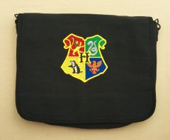 Hogwarts Harry Potter Embroidered Messenger Bag