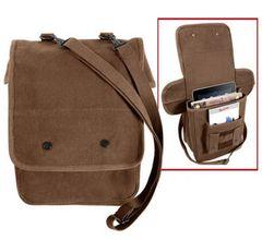 Rothco Canvas Map Case Shoulder Bag (Brown)