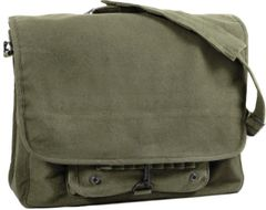 Rothco Vintage Canvas Paratrooper Bag (Olive)