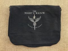Night's Watch Embroidered Messenger Bag