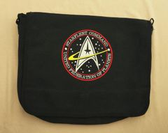 Star Trek Starfleet Command Embroidered Messenger Bag