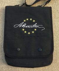 Hamilton Signature Embroidered Tablet Bag