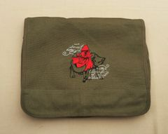 Red Riding Hood Embroidered Messenger Bag