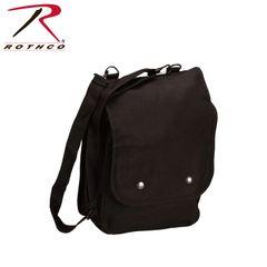 Rothco Canvas Map Case Shoulder Bag (Black)