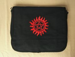 Supernatural Anti-Possession Embroidered Messenger Bag
