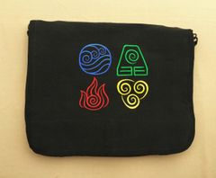 Avatar - The Last Airbender Embroidered Messenger Bag
