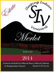 2014 Estate Merlot