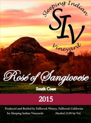 2015 Rosé of Sangiovese