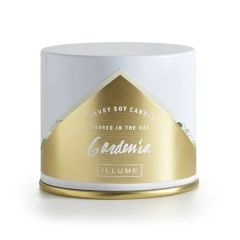 Illume Gardenia Vanity Tin Candle 11.8 oz