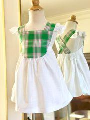 Nancy Dress AS SHOWN White Linen