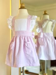 Ellie Pinafore AS SHOWN lace