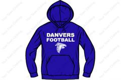 DHS Football Hooded Sweatshirt