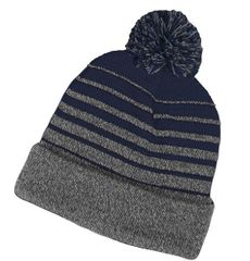 Essex Tech Football Pom Pom Winter Hat