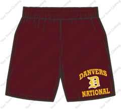 DNLL Performance Shorts - Maroon