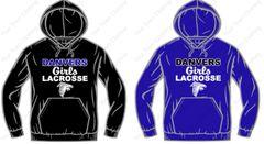 Danvers Girls Lacrosse Hooded Sweatshirt