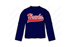 Ice Hawks Long Sleeve T