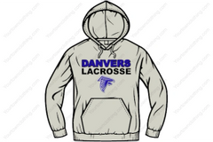 DHS Lacrosse Hooded Sweatshirt