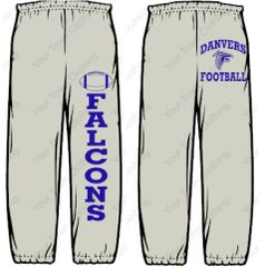 DHS Football Sweatpants
