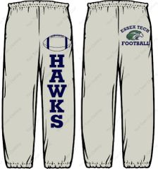 Essex Tech Football Sweatpants