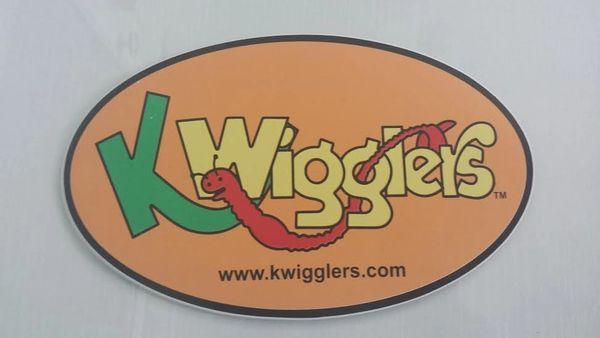 KWigglers Logo Decal - Large