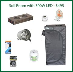 2x2x4 Soil Grow Package