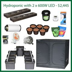 7x7x6.5 Hydro Grow Package