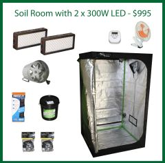 4x4x6.5 Soil Grow Package