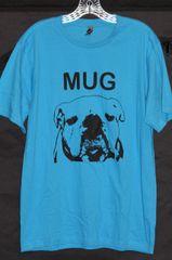 MUG Shirts Men M Light Blue