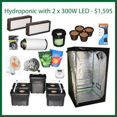 4x4x6.5 Hydro Grow Package