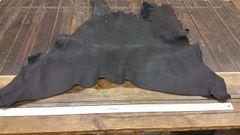 Buffalo double shoulder black color about 12-15 sq ft/ j6-41