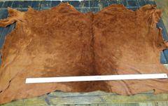 Buffalo Splits/Suede Hides/Mossasin Leather-Whiskey Z2-509