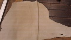 Beige colored finished top grain leather-J1-9