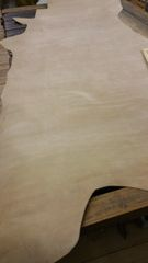 Light Brown Finished Cow Hide Leather