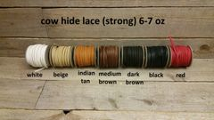 cow hide lace (strong) 6 oz baseball strings E19-1-7