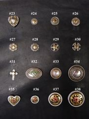Assorted Conchos 23-38
