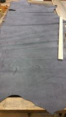Black Buffalo Leather Side-J6-21