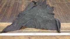Buffalo double shoulder black color about 12-15 sq ft/ j6-42