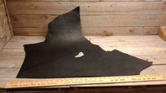 Black Harness Leather (single head) Cow Hide 10 -12 oz-J6-29