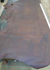 Cow Hide Leather/oil-tanned/Russet/5-6oz/Big Hide/Z1-513